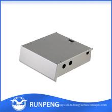 Boîtier d'amplificateur en aluminium à poinçonner CNC