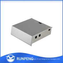 Caso de amplificação de alumínio CNC de perfuração