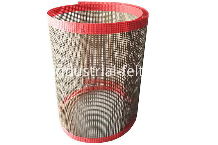 Fiber glass mesh belt