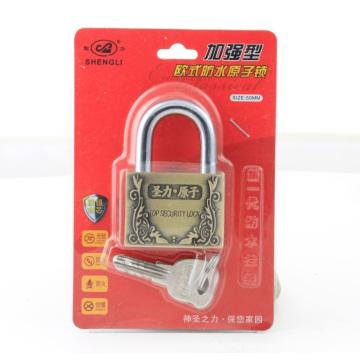 Zinc Alloy Arc Shape Atom Padlock Zinc Lock