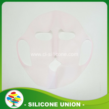 Prevent water evaporation silicone face mask