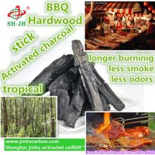 Natürliche tropische Hartholzkohle für BBQ