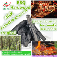 Natural tropical Hardwood Charcoal for BBQ