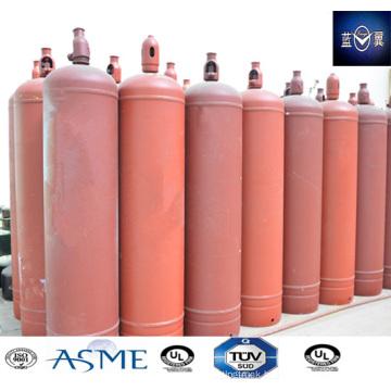90kg 100L Empty Steel Welding Refillable Ethylamine Gas Cylinder