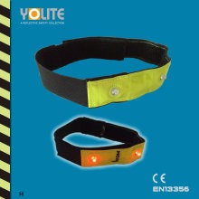 Reflective LED Armband/Wristband with CE En13356