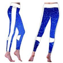 Mulheres jogging calças e calças, calças de ioga, Custom Compression Pants
