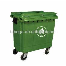 poubelle en plastique / moule de poubelle