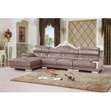Домашняя мебель, мебель для гостиной, кожаный диван (SA28)