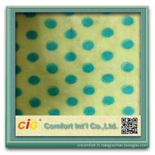 Mode nouvelle conception jolie ningbo fashion polyester tissu super doux polaire star ouatine de corail