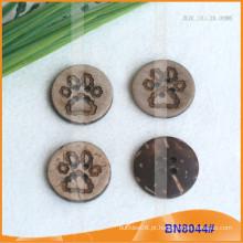Botões de coco natural para vestuário BN8044