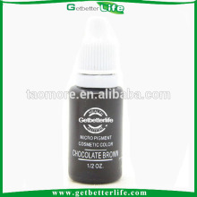 Suprimentos de tinta de maquiagem permanente Chocolatebrown sobrancelha Getbetterlife profissional 15ml