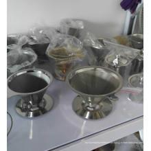 Edelstahl Kaffee Filter Wire Mesh Pour Over / Gießen über Kaffee Dripper
