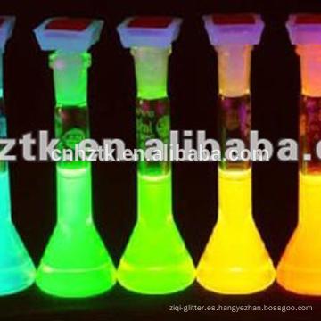 Tintes fluorescentes para pintura