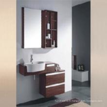 Meubles de salle de bain en surface de mélamine avec une bonne qualité (SW-ML1207)