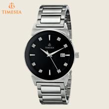 Men's Analog Display Japonês Quartz Silver Watch 72528