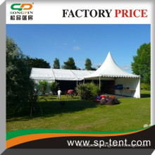 Heavy duty white cheap wedding marquee party tent for sale with 5x5m pagoda tent