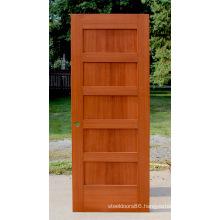 Stile and Rail 5 Panel Oak Wood Door Shaker Door