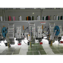 Cording/Coiling Mixed with Flat Embroidery Machine