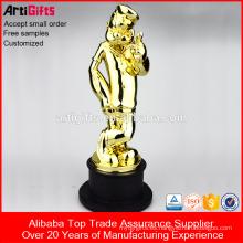 Trofeos baratos de la taza del trofeo del metal de gama alta