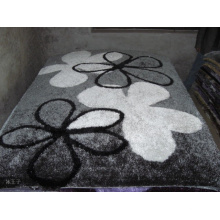 Small Flower Silk Carpet