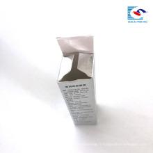 personnalisé imprimé à emporter petit rouge à lèvres boîte à papier glossing