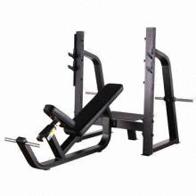 Olympic Incline Bench, Used as Plate Loaded Fitness Equipment, with Standard Export Package