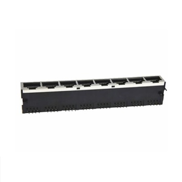 RJ45-Buchse Side Entry Shielded 1x8P Front 3.68