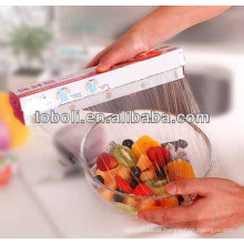 Película de embalagem de grau alimentar com caixa de corte