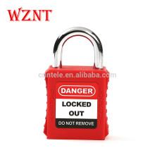 25mm Loto OEM Gravure à clé différente cadenas de sécurité à clé identique