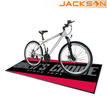 Fabrik Großhandel Customized Bike Logo Mat