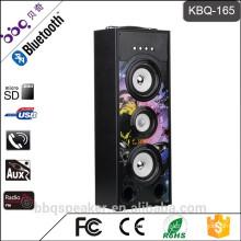 Hot-selling KBQ-165 25W Blue LED wireless bluetooth tower speaker