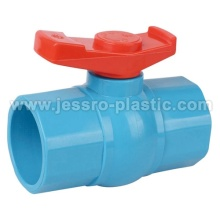 PVC VALVES-OCTAGONAL BALL VALVE(LUXURY)