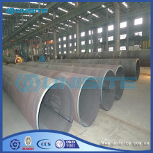 Saw welded carbon steel pipes