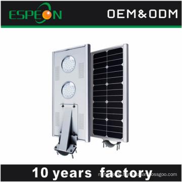 Alle in einem Solarstraßenlaterne Bewegungssensor im Freien führte Lichter
