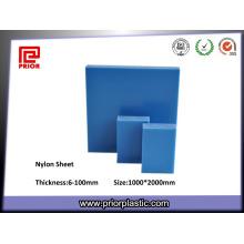 Feuille de nylon de plat en plastique d'extrusion de prix de l'usine PA66