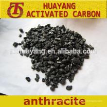 Precio de carbón antracita calcinado de alta C de baja C para medios filtrantes