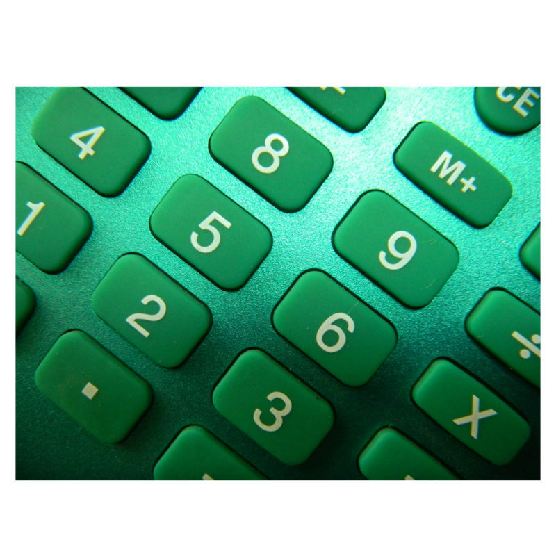 8 Digits Office Desktop Calculator com titular da caneta