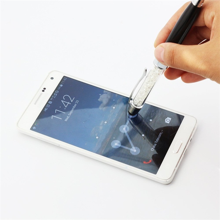 Crystal Touch Screen Stylus Pen