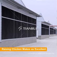 Almofada refrigerando automática da casa das aves domésticas para a galinha