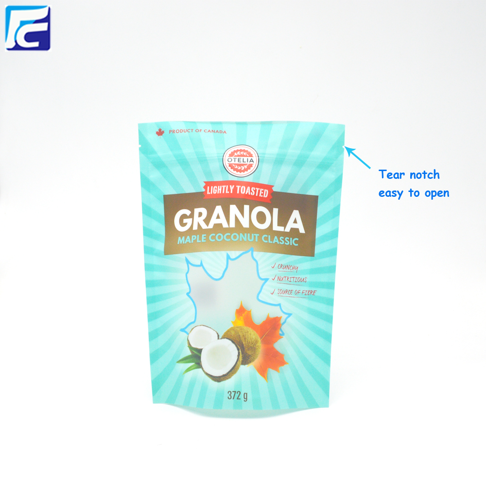 Granola Packaging Bag
