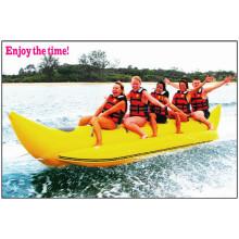 2015 ins Auge fallendes 5 Personen PVC-materielles aufblasbares Boots-Bananen-Boot mit CER China