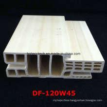 Df-120W45 E Style WPC Door Frame WPC Door Jamb PVC Foamed Door Pocket Df-120W45