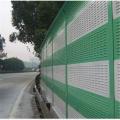 Schallschutzwand aus Polycarbonat