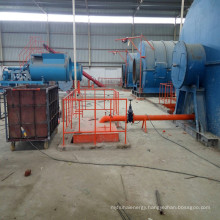 PLC controlling system waste energy oil recycling plant with CE certificate
