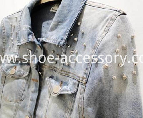 metal nailheads for clothing