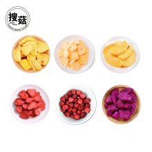 Vente en gros et au détail en vrac emballage sous vide lyophilisé fruits chips