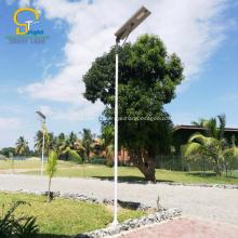 Luz de rua solar IP65 integrada