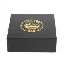 Caja de regalo plegable de papel plana personalizada al por mayor