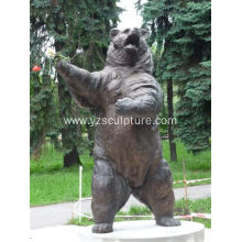 Bronze Life Size Bear Statue For Sale