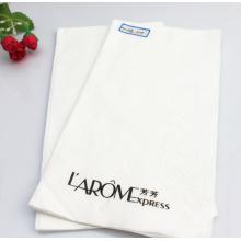 Guardanapo de papel branco descartável